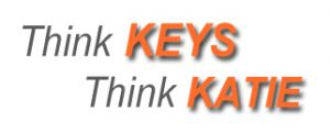 think keys text orange